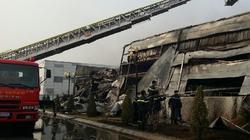 Bắc Ninh: Cháy lớn tại Khu công nghiệp Yên Phong