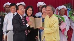 Ninh Thuận: Bàn giao thư tịch cổ Chăm