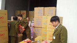 Hà Tĩnh: Thu giữ hơn 2 tấn hàng giả nhãn mác