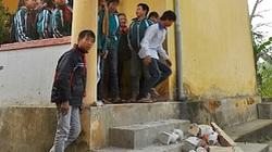 Hà Tĩnh: Sập lan can trường, 3 học sinh bị thương