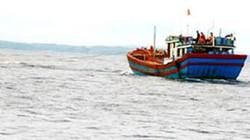 Ngư dân cứu 4 thuyền viên nước ngoài trôi dạt trên biển