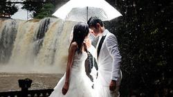 Chiêm ngưỡng bộ ảnh cưới tuyệt đẹp dưới mưa