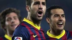 Messi lập cú đúp trong 3 phút, Barca đại thắng