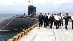 Tàu ngầm Kilo thử nghiệm thành công trên Biển Đông