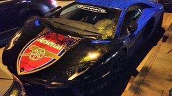 "Siêu xe Aventador của ""fan cuồng"" Arsenal"
