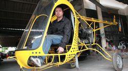 """Chi tiết trực thăng """"Made in Việt Nam"""" của thợ rèn học hết cấp 2"""