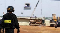 """Thái Nguyên: 20 cảnh sát lập """"doanh trại"""" tại NM Samsung"""