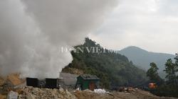 Chùm ảnh cháy lò than ở Quảng Ninh, 6 công nhân thiệt mạng