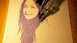 Robot Việt vẽ hình Chi Pu đẹp khó tin