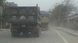 Thanh Hóa: Xe tải… tung hoành