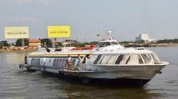 TP.HCM: Tàu cánh ngầm bốc cháy, hàng trăm hành khách lao xuống sông