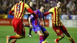 """Messi """"tịt ngòi"""", Barcelona bị chia điểm"""