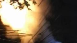Hà Nội: Dân hắt nước lên cột điện để dập đám cháy