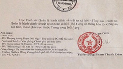 Lùm xùm tại ĐH Hùng Vương: Hủy con dấu qua... thông báo
