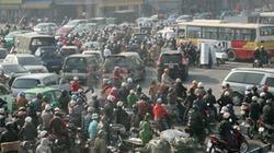 Chùm ảnh giao thông Thủ đô hỗn loạn ngày áp Tết