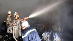 Xẹt tia lửa hàn, phim trường cũ của VTV bị cháy trụi