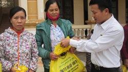 200 suất quà tặng nông dân nghèo vùng lũ Quảng Bình, Quảng Trị