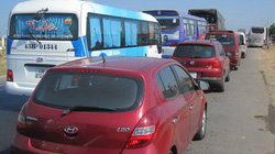 Hàng nghìn ô tô nối đuôi kẹt dài 5km trên Quốc lộ 1