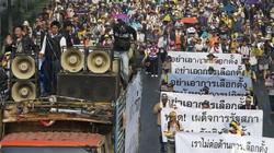 Thái Lan: DSI đề nghị tòa phát lệnh bắt 16 thủ lĩnh biểu tình