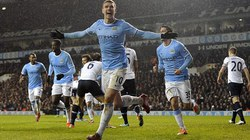 Đại thắng Tottenham, Man City đánh chiếm ngôi đầu