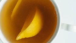 Tự làm cốc trà gừng thơm mát cho năm mới an lành