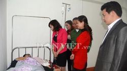 Yên Bái: Thầy giáo bị lây sởi vật vã chống lại bệnh