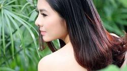 Vân Trang bán nude e ấp lưng trần, gợi cảm chào xuân