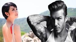Siêu mẫu Xuân Lan lên FB, gọi tên cha của con mình là… David Beckham