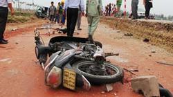 Tai nạn liên hoàn trên QL1A, bốn người nhập viện