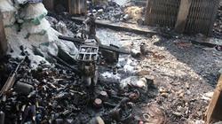 Quảng Ngãi: Gần nửa tỷ đồng tiền mặt, hàng hóa bị lửa thiêu rụi