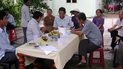 Nông dân tích cực  tham gia hòa giải
