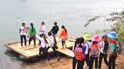 """Quảng Ngãi: Xây cầu cho """"làng đi bè qua sông"""""""