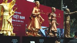 Ra mắt tượng Đại tướng Võ Nguyên Giáp và 3 danh tướng Việt
