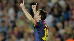 Messi cân bằng kỉ lục của huyền thoại Telmo Zarra