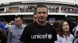 Beckham ngưỡng mộ người dân Philippines