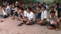 Đột kích trường gà vùng ven Sài Gòn, bắt 49 đối tượng