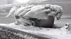 Băng tuyết đẹp kì vĩ trên đỉnh Mẫu Sơn