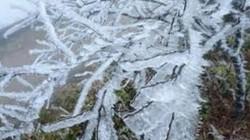 Băng giá tại núi Mẫu Sơn chấm dứt