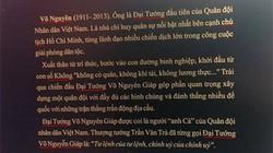 Lỗi chính tả tràn ngập trên bia điêu khắc về Tướng Giáp