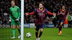 Hạ gục Man City, Barcelona đặt một chân vào tứ kết