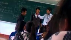 """Thầy-trò đánh nhau trên bục giảng: """"Đáy"""" của đạo đức giáo dục"""