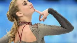 Vẻ đẹp rạng ngời của VĐV trượt băng người Nga