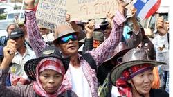 Nông dân Thái Lan biểu tình đòi nợ