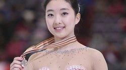 """""""Phát sốt"""" trước nhan sắc của VĐV trượt băng Trung Quốc"""