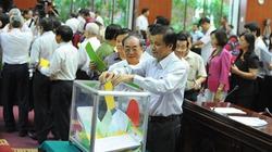 Sẽ tạm dừng việc lấy phiếu tín nhiệm
