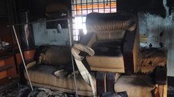 Bình Dương: Cháy lớn thiêu rụi một ngôi nhà