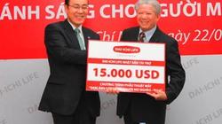 """Dai-ichi Life tiếp tục tài trợ chương trình """"Đem ánh sáng cho người mù nghèo-2014"""""""