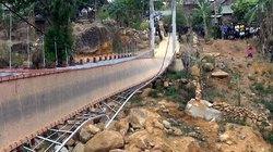 Vụ đứt cáp cầu treo ở Lai Châu: Tường trình của người trong cuộc