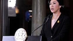 Thủ tướng Thái Yingluck rời Bangkok, không rõ ở đâu