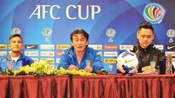 HLV Phan Thanh Hùng muốn chinh phục AFC Cup